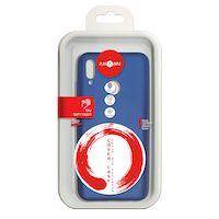 270x270-Силиконовая накладка Akami Soft-touch для Huawei Honor 10 Lite/Huawei P Smart Темно-синий (7075)