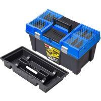 "Ящик для инструментов PATROL Stuff Semi Profi CARBO 26"" синий"