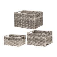 270x270-Набор корзин для хранения 4LIVING 306942 (3 шт)