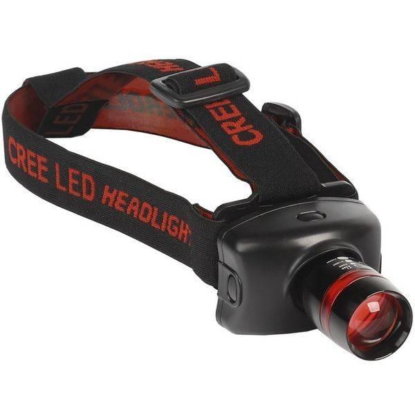 Светодиодный налобный фонарь SMARTBUY SBF-51-K 3Вт CREE XP-E черный