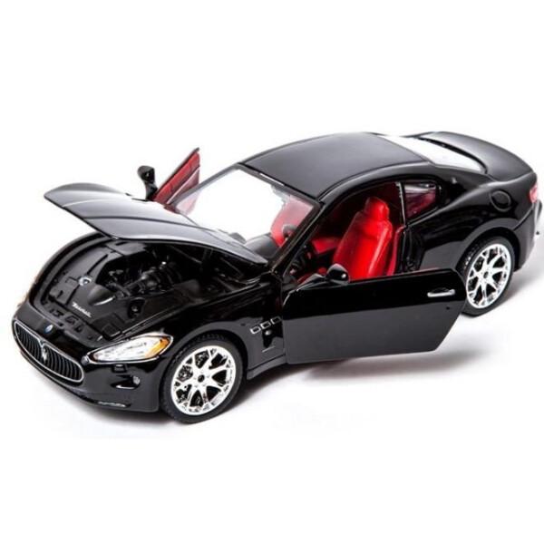 Модель автомобиля BBURAGO 1:24 - Мазерати Гран Туризмо (18-22107)