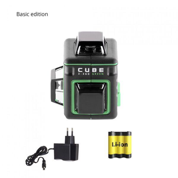 Лазерный нивелир ADA Instruments Cube 3-360 Green Basic Edition (A00560)