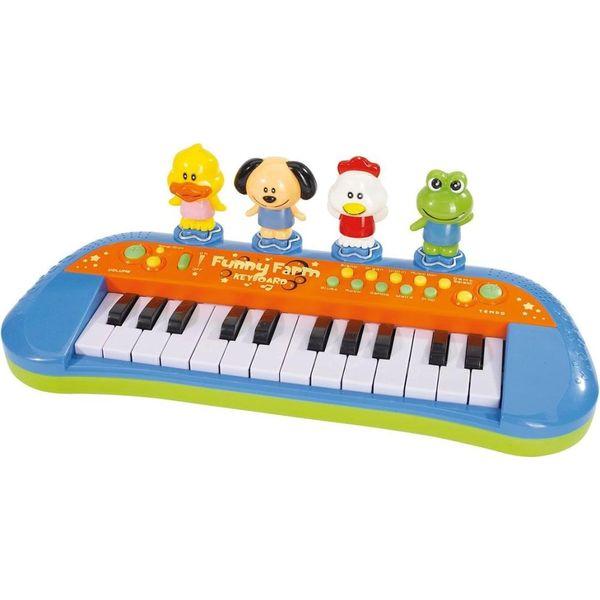 Смешное пианино с животными Simba, озвученное, 10 4012799
