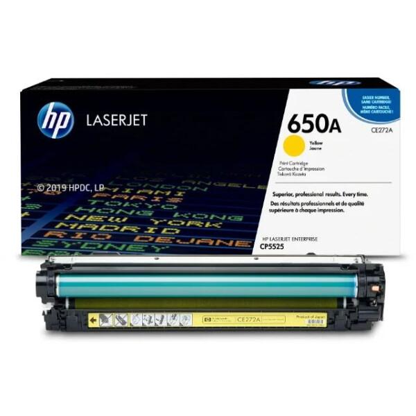 Катридж HP 650A (CE272A) для HP LaserJet Enterprise CP5525