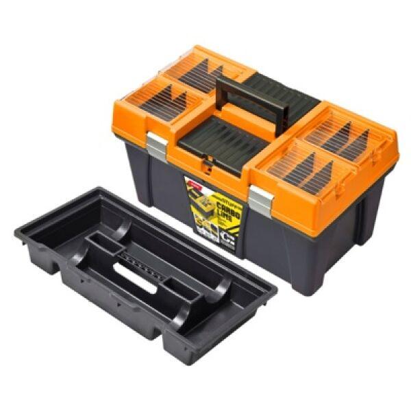 """Ящик для инструментов PATROL Stuff Semi Profi CARBO 26"""" оранжевый"""