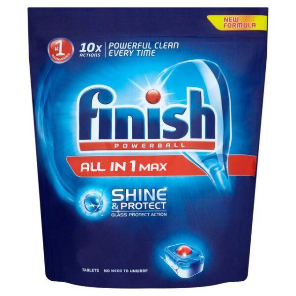 Моющее средство для пмм RECKITT BENCKISER FINISH All in1 Shine&Protect