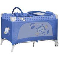 270x270-Манеж-кровать LORELLI Travel Kid 2 Blue Baby Owl