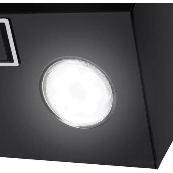 Кухонная вытяжка MAUNFELD Bridge 50 (черный/черное стекло)