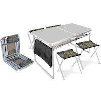 270x270-Комплект складной мебели Nika ССТ-К3 (металлик/хант)
