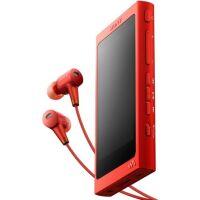 MP3 плеер SONY NW-A35HN, 16 Гб, красный