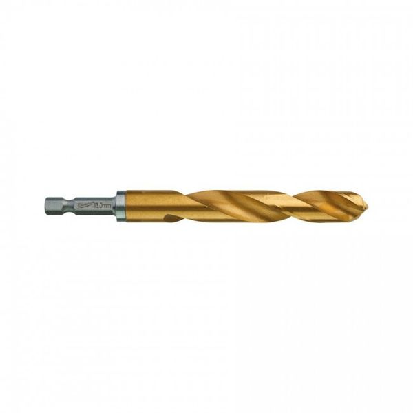 Сверло по металлу MILWAUKEE Shockwave RedHEX HSS-G TiN 13x130mm (48894729)