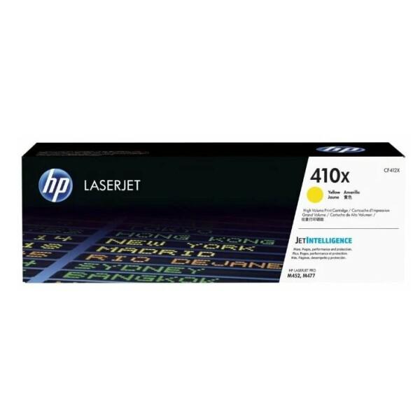 Катридж HP 410X (CF412X) для HP LaserJet Pro M452, M477
