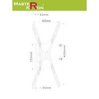 Кронштейн для ТВ MASTERKRON PLA 27-440