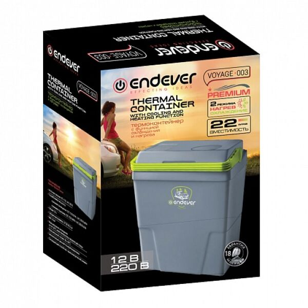 Автохолодильник ENDEVER Voyage-001