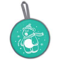 270x270-Санки-ледянка НИКА ЛР40 Медвежонок (зеленый)