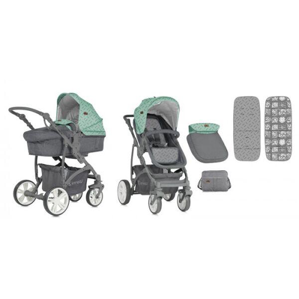 Универсальная коляска Lorelli Vista Green&Grey