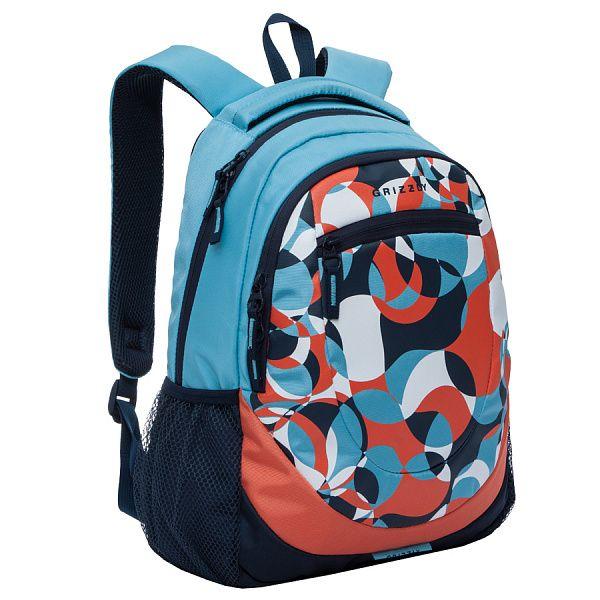 Рюкзак Grizzly RD-751-1 (голубой/синий)